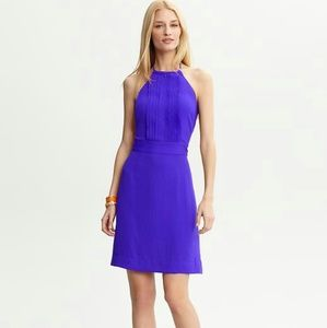 Banana Republic Bib Front Dress Halter
